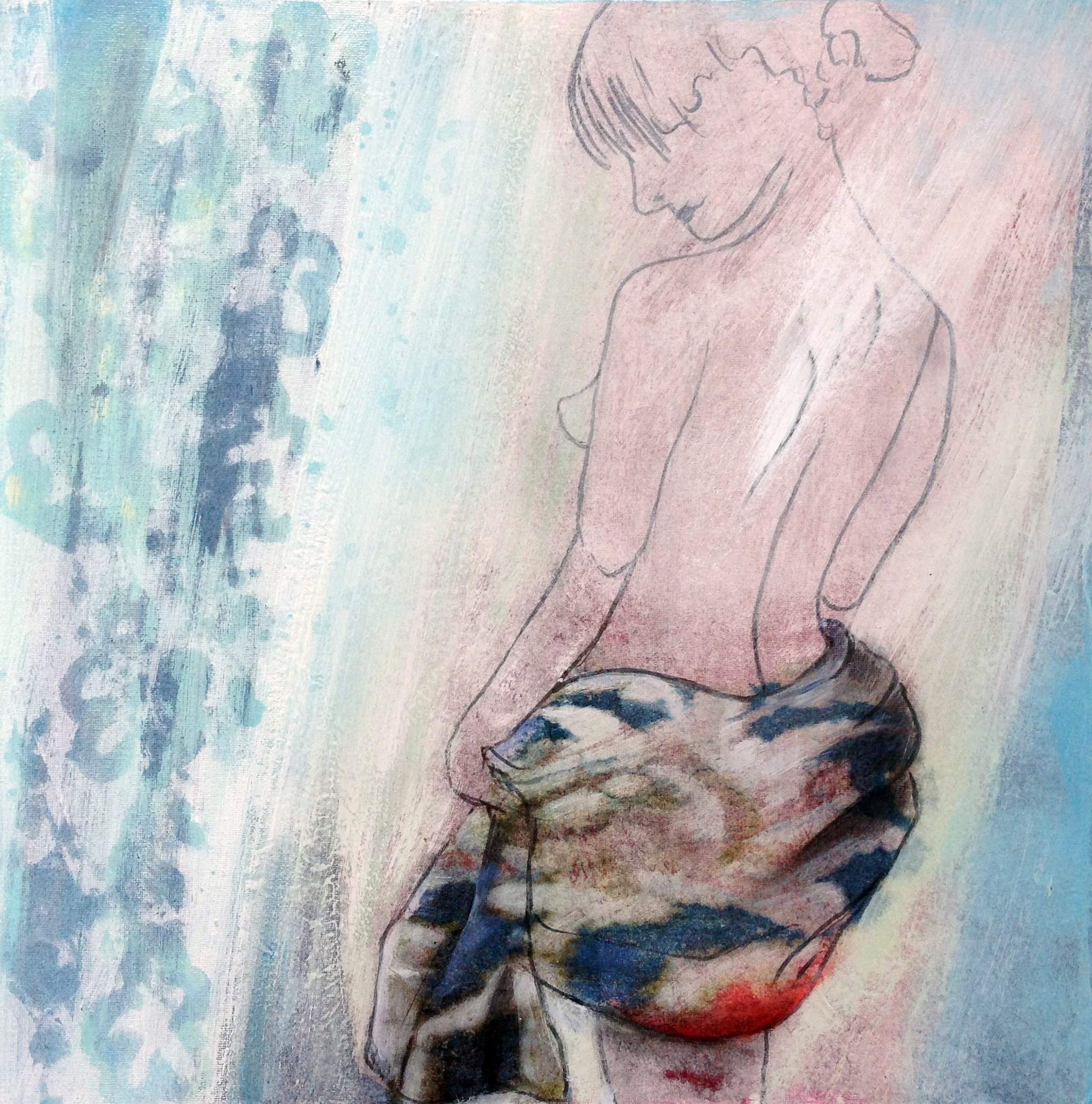 Mixed Media von Sylvia Heuser