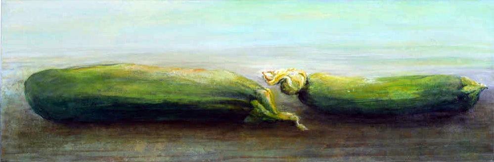 Zucchini von Sylvia Heuser